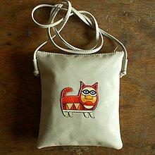 Na tablet - Fanta - kožená crossbody taška - 8352576_