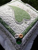 Úžitkový textil - Srdce k srdcu No.5 - 8354531_