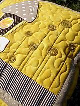 Úžitkový textil - Vtáčia búdka - vankúš - 8355399_