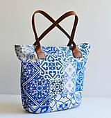 Veľké tašky - Melody (blue maroco) - 8357853_