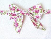 Náhrdelníky - Romantický vintage dámsky motýlik - 8357594_