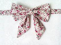 Náhrdelníky - Romantický vintage dámsky motýlik - 8357899_