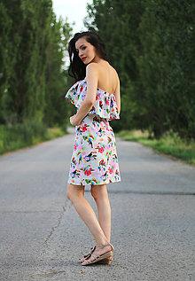 Šaty - Volánové - 8355905_