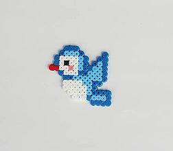 Odznaky/Brošne - Modrý vtáčik - 8357628_