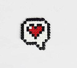 Odznaky/Brošne - I Love You - 8357660_