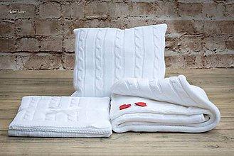 Textil - Súpravička pre bábätko, OEKO-TEX® - Biela - 8359232_