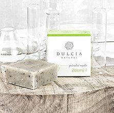 Drogéria - Prírodné mydlo - Zelený íl - 8356340_