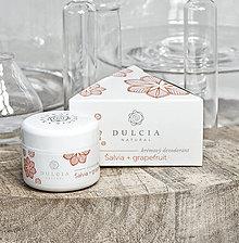 Drogéria - Krémový dezodorant     šalvia - grapefruit - 8356401_