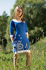 Šaty - Dámske šaty mini, šité, maľované, etno DHRUTI - 8356355_