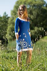 Šaty - Dámske šaty mini, šité, maľované, etno DHRUTI - 8356371_