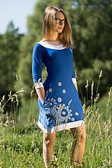Šaty - Dámske šaty mini, šité, maľované, etno DHRUTI - 8356378_