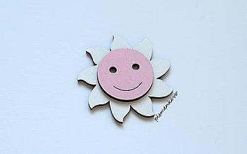 Magnetky - Usmiate slnko - 8355818_