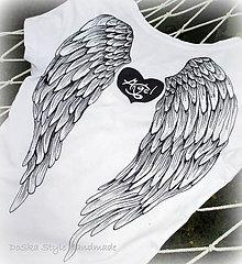 Tričká - Anjelské krídla - 8356747_