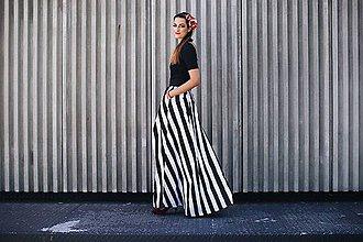 Tričká - Elegantné top na dojčenie Basic Black - 8355618_