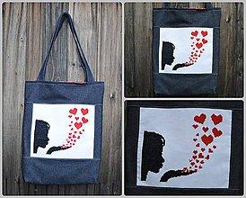 Veľké tašky - Taška s výšivkou - 8358618_