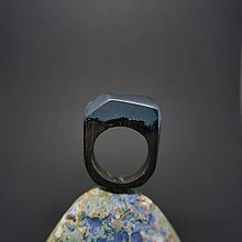 Prstene - Drevený prsteň: Za vodopádom - 8357279_