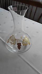 Nádoby - Karafa a sada pohárov na víno - 8359241_