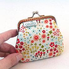 Peňaženky - Peňaženka mini Veselá lúka  - 8356134_