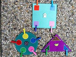 Hračky - Montessori geometrické tvary - 8357811_
