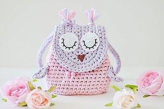 Detské tašky - Ruksak Sovička - 8357253_