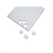 Farby-laky - 3mm 3D samolepiace penové bodky biele, 544ks - 8361099_