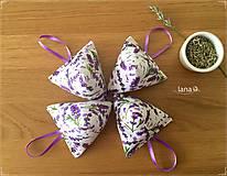 Úžitkový textil - Levanduľové vrecúško - 8360729_