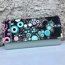 Peňaženky - Bubliny s mentolovou - peněženka - 8360783_