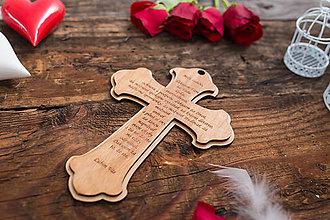 Darčeky pre svadobčanov - SVADOBNÝ KRÍŽ 3 - 8361666_
