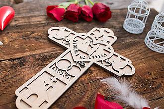 Darčeky pre svadobčanov - SVADOBNÝ KRÍŽ 4 - 8362074_
