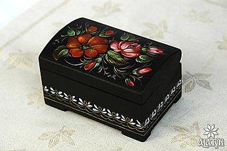 Krabičky - Drevená škatuľka II. - 8359682_