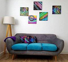 Obrazy - Obraz na plátne kryštáliky rôzne 35x35cm - 8361430_