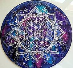 Dekorácie - Kvet života / Vesmírna Odysea - 8361340_