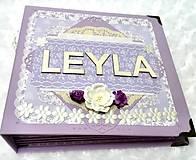 Papiernictvo - Luxusný fotoalbum pre dieťa - dievčatko - 8360124_