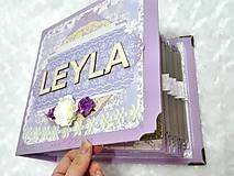 Papiernictvo - Luxusný fotoalbum pre dieťa - dievčatko - 8360126_