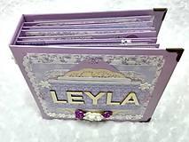 Papiernictvo - Luxusný fotoalbum pre dieťa - dievčatko - 8360127_