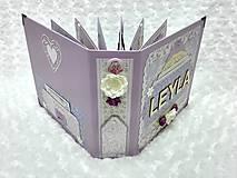 Papiernictvo - Luxusný fotoalbum pre dieťa - dievčatko - 8360128_