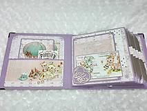 Papiernictvo - Luxusný fotoalbum pre dieťa - dievčatko - 8360129_