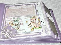 Papiernictvo - Luxusný fotoalbum pre dieťa - dievčatko - 8360130_