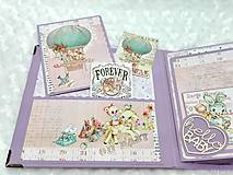 Papiernictvo - Luxusný fotoalbum pre dieťa - dievčatko - 8360136_