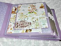 Papiernictvo - Luxusný fotoalbum pre dieťa - dievčatko - 8360137_