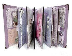 Papiernictvo - Luxusný fotoalbum pre dieťa - dievčatko - 8360125_