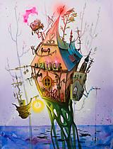 Obrazy - Maľovaný obraz