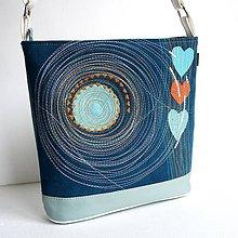 Veľké tašky - Láskavá ... v modrej - 8361275_