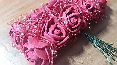 Komponenty - Penové ružičky - 8359366_