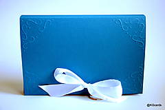 Nezaradené - Obal na knihu modrý - 8364928_