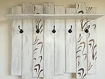 Nábytok - Vešiak - vlnenie - 8364202_