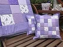 Úžitkový textil - vzor fialová levanduľa - sweet home - 8365008_