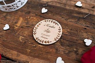 Darčeky pre svadobčanov - Kruh 6 BB - 8364924_
