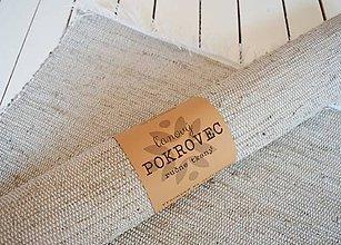 Úžitkový textil - Ručne tkaný POKROVEC - veľký - 8363766_