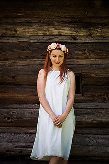Šaty - Jemné elegantné šaty - 8362870_